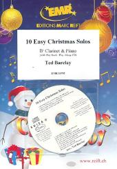 10 easy Christmas Solos (+CD) for clarinet and piano