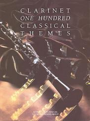 100 classical Themes clarinet songbook for clarinet solo