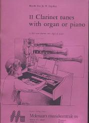 11 Clarinet Tunes with organ or piano