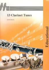 13 Clarinet Tunes with organ or piano