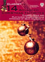 14 advanced Christmas Favourites (+MP3-CD) for clarinet