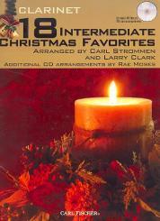 18 intermediate Christmas Favorites (+mp3-CD) for clarinet