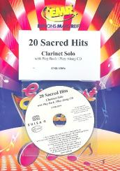 20 sacred Hits (+CD) for clarinet