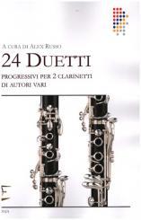 24 Duetti progressivi per 2 clarinetti