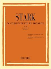 24 studi in tutte le tonalità op.49 per clarinetto