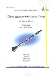 3 German Christmas Songs for clarinet and piano