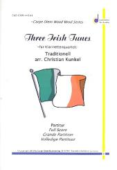 3 irish Tunes für 4 Klarinetten