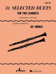 31 Selected Duets for 2 clarinets, score