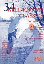 34 well-known Classics (+CD) for clarinet