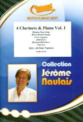 4 Clarinets and Piano vol.1 score and parts