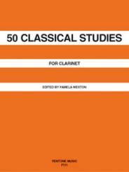 50 classical Studies for clarinet