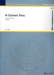 8 Clarinet Trios of the 18th century for 3 clarinets