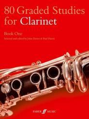 80 Graded Studies vol.1 (nos.1-50) for clarinet