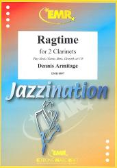 Armitage, Dennis: Ragtime for 2 clarinets and piano