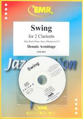 Armitage, Dennis: Swing (+CD) for 2 clarinets Score and parts