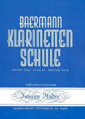 Baermann, Carl: Klarinettenschule Band 2 Erster Teil op.63 Klavierbegleitung zu Band 2 / 502b