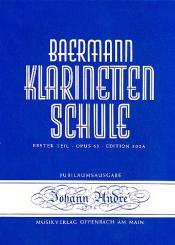 Baermann, Carl: Klarinettenschule Band 1 Erster Teil op.63 Theoretischer Teil mit Tabelle