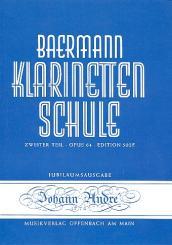 Baermann, Carl: Klarinettenschule Band 6 Zweiter Teil op.64 Klavierbegleitung zu Band 5 / 502E