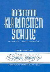 Baermann, Carl: Klarinettenschule Band 5 Zweiter Teil op.64 Fortsetzung und Schluss von Band 2 /502B