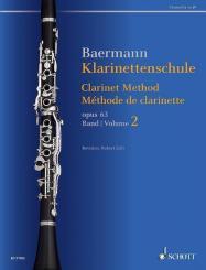 Baermann, Carl: Klarinettenschule op.63 Band 2 für Klarinette (deutsches und Böhm-System)