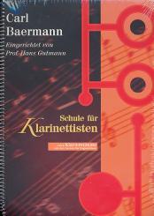 Baermann, Carl: Schule für Klarinettisten mit extra Klavierstimme mit den, besten Vortragsstücken