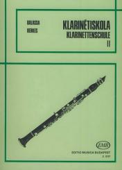 Balassa,  Sandor: Klarinettenschule Band 2 (dt/un)