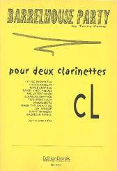 Barrelhouse Party Duets for clarinets