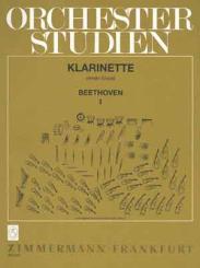Beethoven, Ludwig van: Orchesterstudien Klarinette Band 1 Sinfonien 1-9