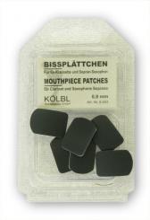 Mouthpiece cushion: soprano saxophone / Eb-clarinet 0,8 mm, black
