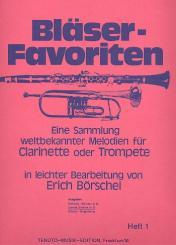 Bläser-Favoriten Band 1 2. Stimme in B