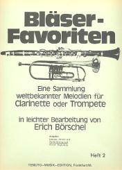 Bläser-Favoriten Band 2 2. Stimme in B