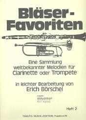 Bläser-Favoriten Band 2 Melodiestimme in B