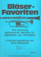 Bläser-Favoriten Band 3 2. Stimme in B