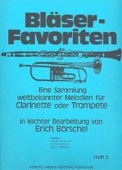 Bläser-Favoriten Band 3 Klavierbegleitung