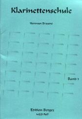 Braune, Herman: Klarinettenschule Band 1