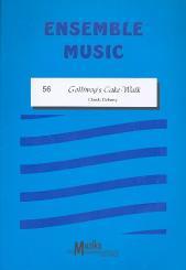 Debussy, Claude: Golliwog's cake walk für gem Ensemble, Partitur+Stimmen, Ensemble Music 56