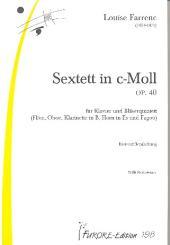 Farrenc, Louise: Sextett c-Moll op.40 für Flöte, Oboe, Klarinette, Horn, Fagott und Klavier