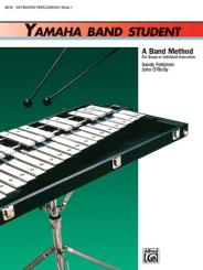 Feldstein, Sandy: Yamaha Band Student vol.1 for concert band, keyboard / percussion