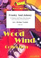 Frankie and Johnny for 3 clarinets and piano (keyboard) (rhythm group ad lib), score and parts