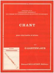 Gartenlaub, Odette: Chant pour clarinette et piano