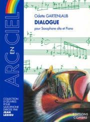 Gartenlaub, Odette: Dialogue pour saxophone alto et piano