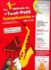 Geiss, Philippe: La 1ere méthode de tout petit saxophoniste (avec clé USB): pour 1-2 saxophones et piano, partition de saxophone (accompagnement téléchargeable)