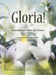 GLORIA (+CD) INSTRUMENTAL SOLOS FOR EASTER, E FLAT INSTRUMENTS (ALTO SAX AND