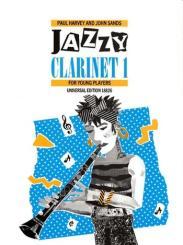 Harvey, Raymond: Jazzy Clarinet 1 for Young Players: für Klarinette und Klavier