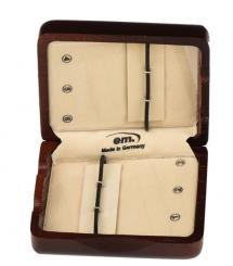 Case for 6 clarinet reeds, wood