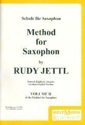 Jettel, Rudolf: Schule für Saxophon Band 2 Tägliche Studien (dt/en)