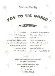 Joy to the World Bb-Version für Singstimme / Melodieinstr. in Bb, mit Akkordbezifferung