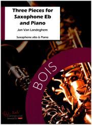 Landeghem, Jan van: 3 Pieces for alto saxophone and piano