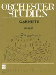 Mahler, Gustav: Orchesterstudien Klarinette