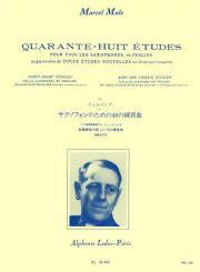 Mule, Marcel: 48 études pour tous les saxophones de Ferling